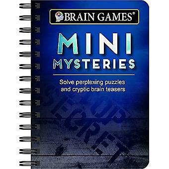 Mini Brain Games Mini Mysteries: Solve Perplexing Puzzles and Cryptic Brain Teasers