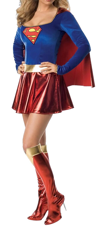 Waooh69 - SuperMan Costume Women Tith