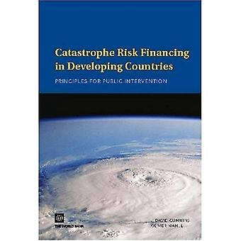 Catastrophe Risk Financing in Developing Countries: Principles for Public Intervention