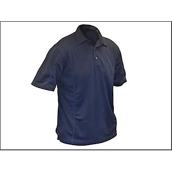 Roughneck Clothing Quick Dry Polo Shirt Blue - XL