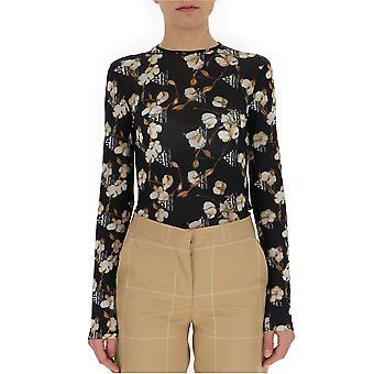 Off-white Black Cotton Bodysuit
