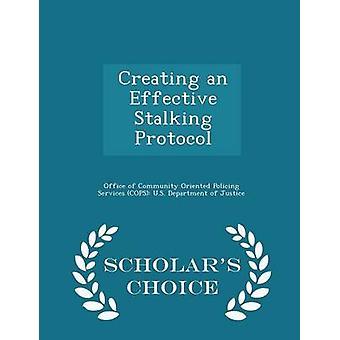 Creëren van een effectieve Stalking keuze Edition Protocol geleerden door Bureau van gemeenschap georiënteerde politie Se