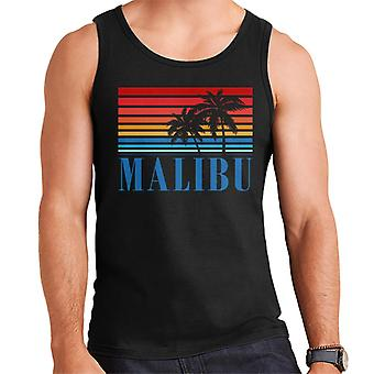 Malibu Retro 70s Sunset Men's Vest