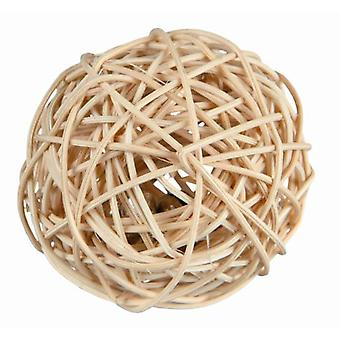 Trixie Wicker Ball with Bell for Mice and Hamsters (Small pets , Toys)