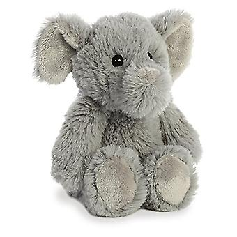 Aurora Elephant Plush, Grey