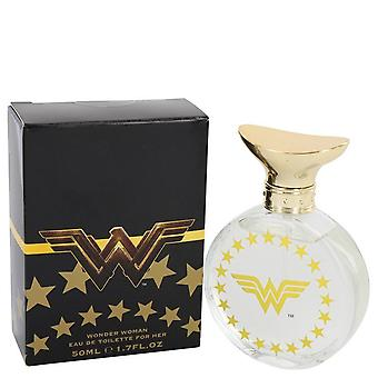 Wonder Woman by Marmol & Son Eau De Toilette Spray (Black box) 1.7 oz / 50 ml (Women)