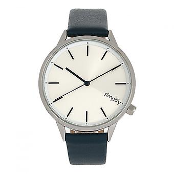 Simplify The 6700 Series Watch - Teal/Silver