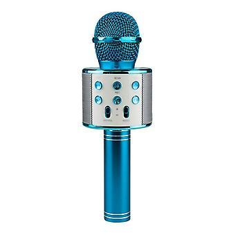 KTV-draadloze Karaoke microfoon-blauw
