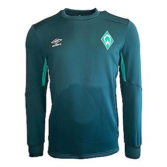 2019-2020 Werder Bremen Umbro Sweat Top (Green)