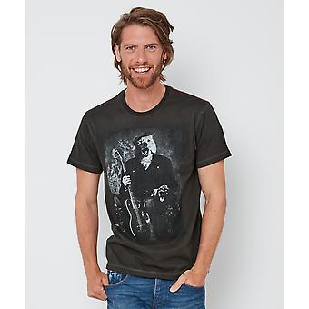 Joe Browns mens porträtt av hund med gitarr T-shirt