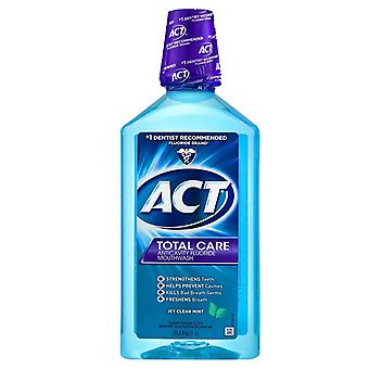 Act total care mouthwash, icy clean mint, 33.8 oz