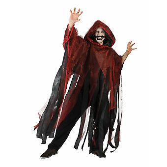 Ghosts Zombie Ghoul Cape Men's Costume one size