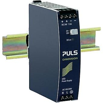 Rail mounted PSU (DIN) PULS DIMENSION CS3.241 24 Vdc 3.3 A 80 W 1 x