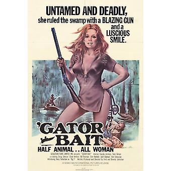 Gator agn film plakatutskrift (27 x 40)