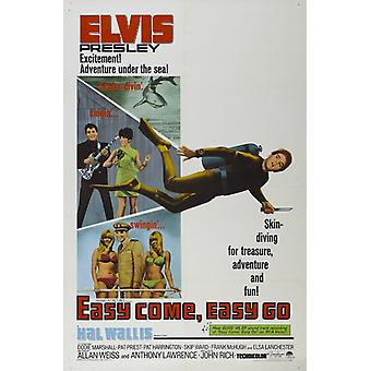 Easy Come Easy Go Movie Poster Print (27 x 40)