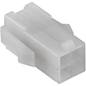 Socket enclosure - cable Universal-MATE-N-LOK Total number of pins 4 TE Connectivity 172159-1 Contact spacing: 4.20 mm 1