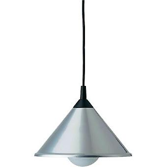 Pendant light Energy-saving bulb E27 75 W Brilliant Bistro 11170/11 Titanium