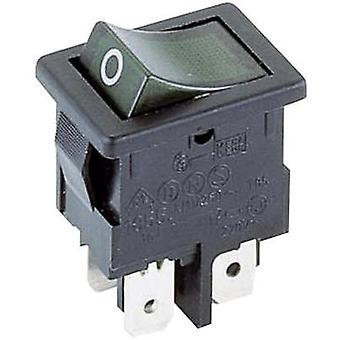 Toggle switch 250 Vac 4 A 2 x Off/On Marquardt 1855.1108 IP40 latch 1 pc(s)