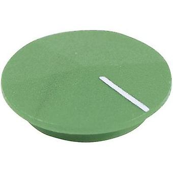 Cover + hand Green, White Suitable for K12 rotary knob Cliff CL177815 1 pc(s)