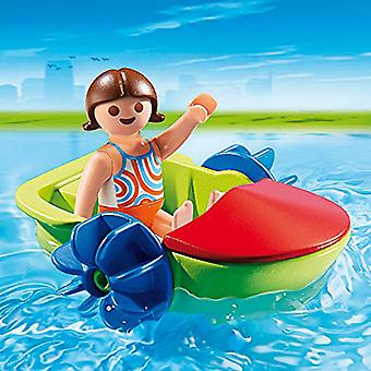 Playmobil Summer Fun Children's Paddle Boat