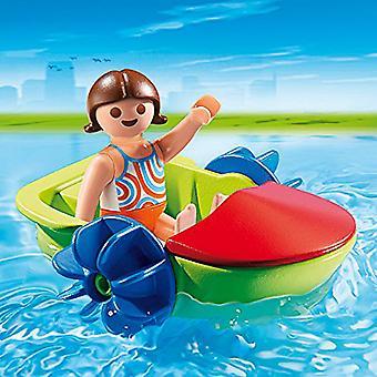 Barca a remi per bambini di Playmobil estate divertente