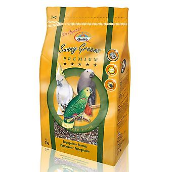Quiko Parrot Sunny Greens Complete Food 2kg