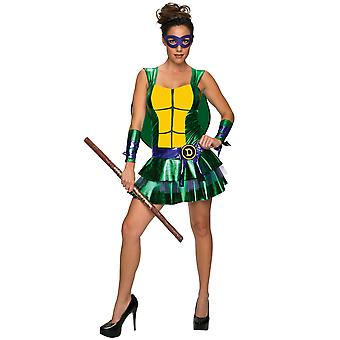Donatello Don Sexy jurk Teenage Mutant Ninja Turtles vrouwen Coombs
