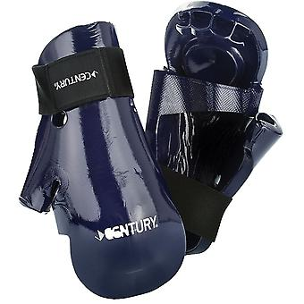 Century Kids Martial Arts Student Hook and Loop Sparring Gloves - Blue - karate