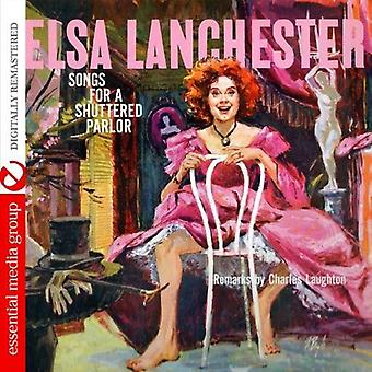 Elsa Lanchester - Songs for a Shuttered Parlor [CD] USA import