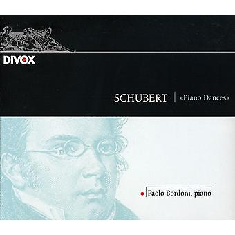 F. Schubert - Schubert: Klaver danse [CD] USA import