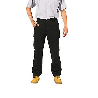 KEY Duck Work Trousers - Black Mens Work Trousers Industrial Workwear Clothing