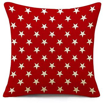 Superstudio White Cushion Cover Stars 45X45- (Casa , Tessili , Cuscini)