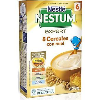 Nestlé Nestum Pap 8 Cereals W. Honey From 6 Months On 600 gr
