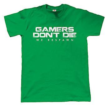 Spieler sterben nicht wir Respawn, Herren-T-Shirt