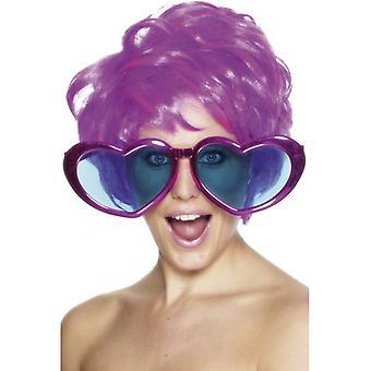 Riesenbrille Herz Herzbrille Heart Sonnenbrille Scherz