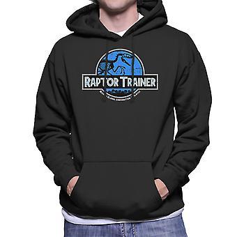 Raptor Trainer Jurassic World Men's Hooded Sweatshirt