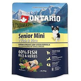 Ontario Senior Mini Fish and Rice (Dogs , Dog Food , Dry Food)