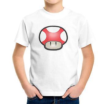 Super Mario Mushroom Red Kid's T-Shirt