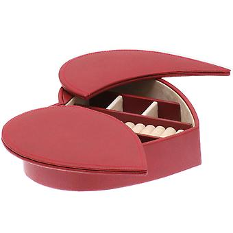 Jewelry jewelry box heart red jewelry box jewelry box synthetic