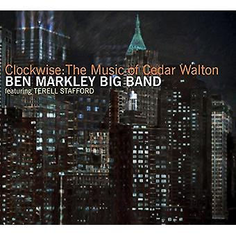 Markley, Ben Big B & - med uret: musik af Cedar Walton [CD] USA import