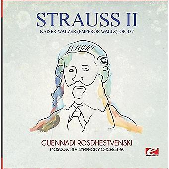 Strauss - Kaiser-Walzer (kejser vals) Op. 437 [CD] USA importerer