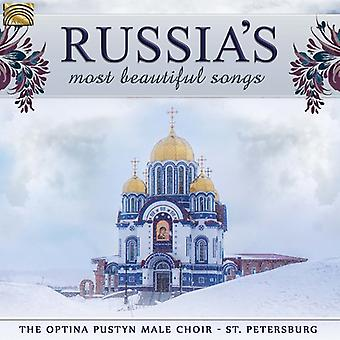 Optina Pustyn mandskor Skt. Petersborg - Ruslands mest smukke sange [CD] USA import