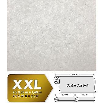 Uni wallpaper EDEM 9009-20 non-woven wallpaper marked with abstract pattern shiny white 10.65 m2
