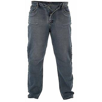 Duke Mens Rockford Kingsize Comfort Fit Jeans