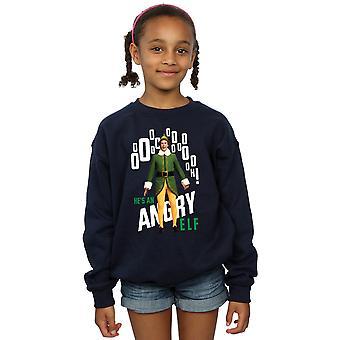 Elf Girls Angry Elf Sweatshirt