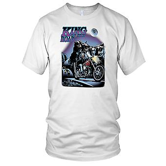 King Of The Road Biker Motorrad Hog Mens T-Shirt