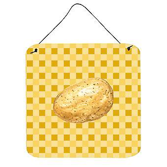 Aardappel op weef muur of deur hangen Prints