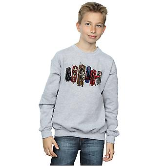 DC Comics pojkar Justice League film Team hexagoner Sweatshirt