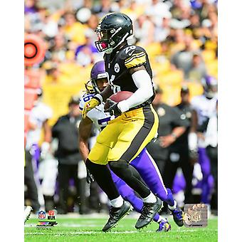 LeVeon Bell 2017 Action Photo Print