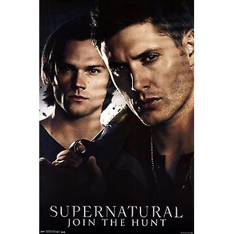 Supernatural - frères affiche Poster Print